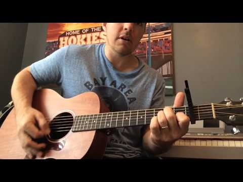 Song About A Girl - Eric Paslay (Beginner Guitar Lesson)
