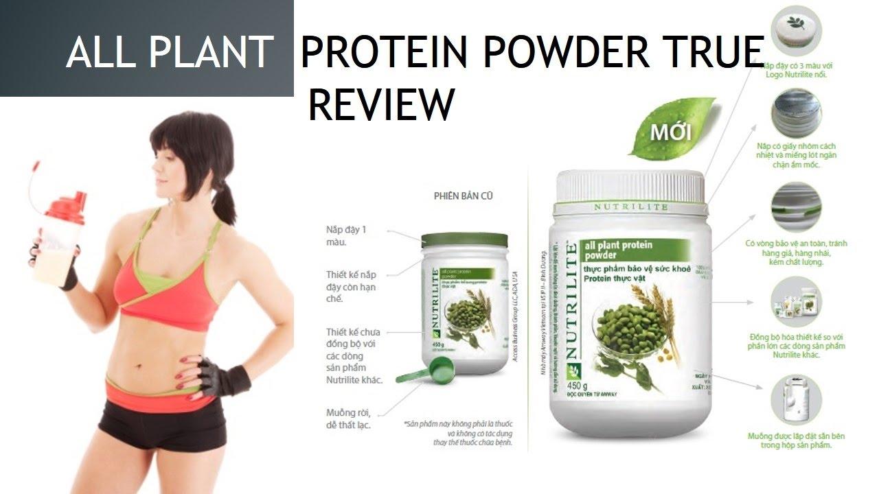 Plant Protein Powder Benefits Amway Nutrilite All Plant Protein Powder True Review