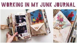 JUNK JOURNAL WITH ME - Ep 09 | Journalling Process Video | Vintage Junk Journal