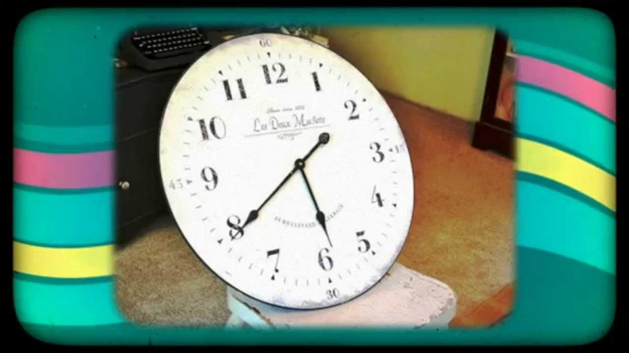 Как сделать картонные часы фото 287