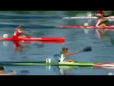 2008 Olympic Canoeing Beijing, Woman's K-1 500 m Heat 1 (16:9)