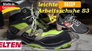 Рабочая обувь в германии обзор немецкой обуви.