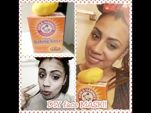 DIY FACE MASK… BAKING SODA & LEMON