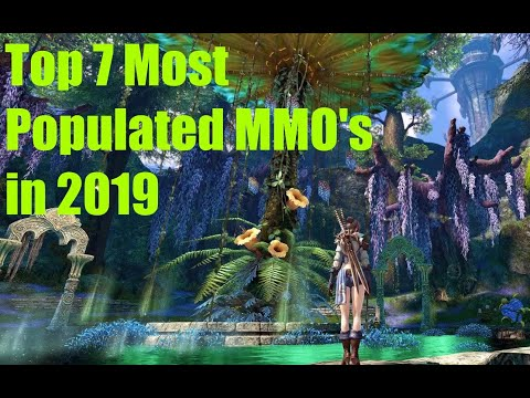 Top 7 Most Populated MMO's In 2019