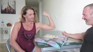 Mixed Arm Wrestling Over The Top