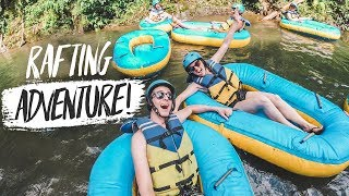 RIVER RAFTING ADVENTURE IN BALI! + Beautiful Secluded Villa Tour!