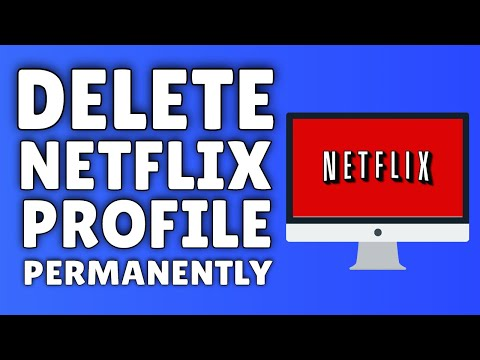 How To DELETE A Netflix Profile  Delete A Profile On Netflix PERMANENTLY!