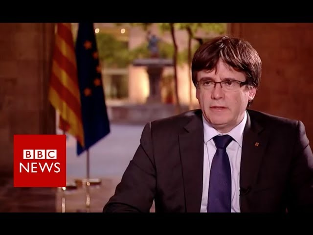 Catalonia referendum: Independence will be declared 'by end of week'  - BBC News