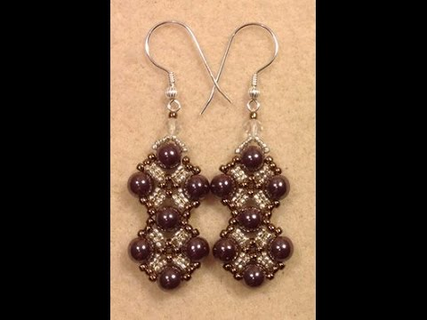 Dressy Diamonds Earring Tutorial