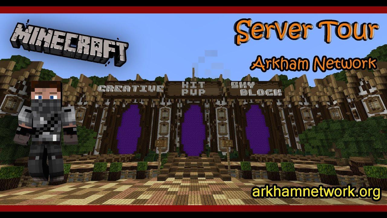 Arkham Network | Minecraft Servers