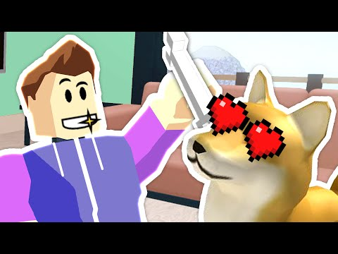 Roblox Roleplay - New Condo & Cutest Dogs Ever!! (The Plaza)