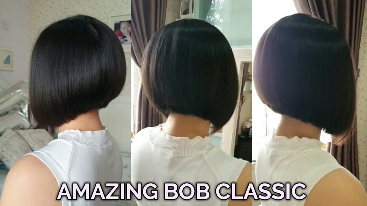 AMAZING BOB CLASSIC HAIRCUT BY JOHNY MALLATO