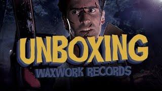 UNBOXING - EVIL DEAD 2 & CREEPSHOW, PAR WAXWORK RECORDS
