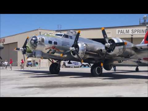 Madras Madien B 17 at the Palm Springs Air Museum 2017