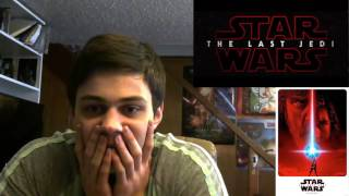 Star Wars: The Last Jedi Official Teaser REACTION