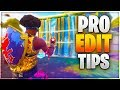 PRO EDIT TIPS! Practical Building Edits You'll ACTUALLY Use! (Fortnite)