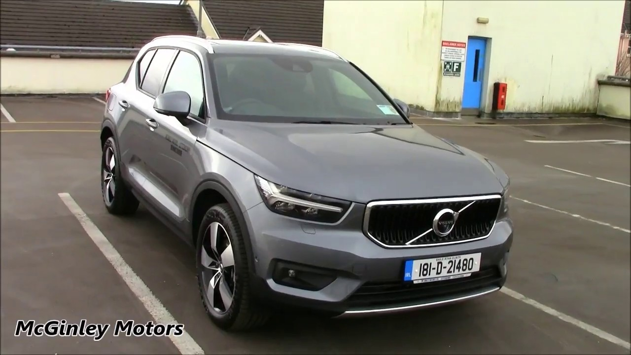 Volvo 40 1 Interior >> 2018 Volvo XC40 Momentum Pro D4 AWD Launch Model - YouTube