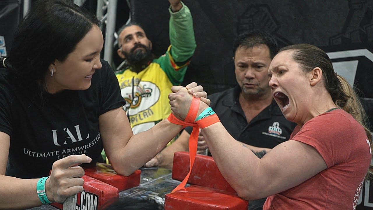 Ual Arm Wrestling Championship 2020 Women Youtube
