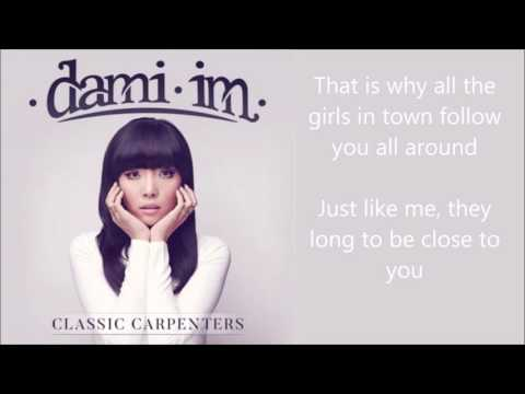 Dami Im - They Long To Be (Close To You) - lyrics - Classic Carpenters album
