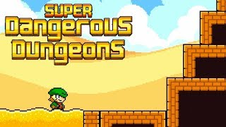 Super Dangerous Dungeons - Jussi Simpanen Extra Dungeons Level 0-3 Walkthrough