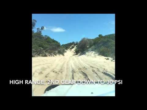 4WD in Coffin Bay, South Australia