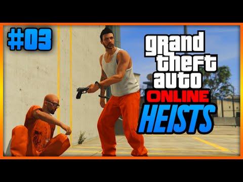"""""""PRISON BREAK HEIST FINALE!"""" Heists missie #2 Deel 2 (Grand Theft Auto 5 Online)"""