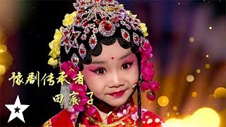 Cutest Kid Dancer Performs on Kids Got Talent China | Got Talent Global