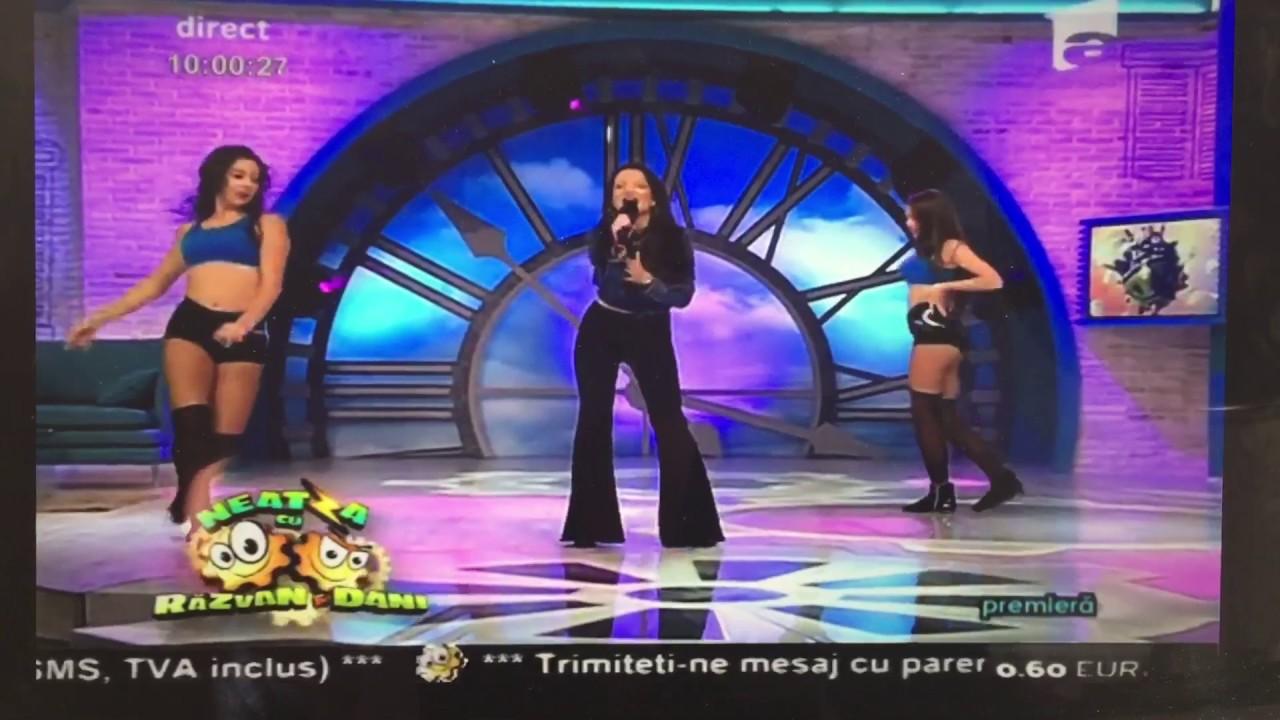 Eva Pop la Neatza cu Răzvan si Dani
