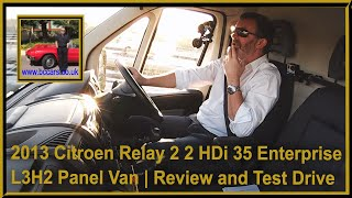 Review and Virtual Video Test Drive in our Citroen Relay 2 2 HDi 35 Enterprise L3H2 Panel Van