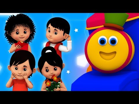Senses | Learning Street With Bob The Train | Word Play | Learning Videos For Babies By Kids Tv