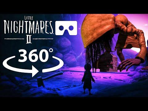 360° MONSTER Six | Little Nightmares 2 Final Boss Ending in VR |