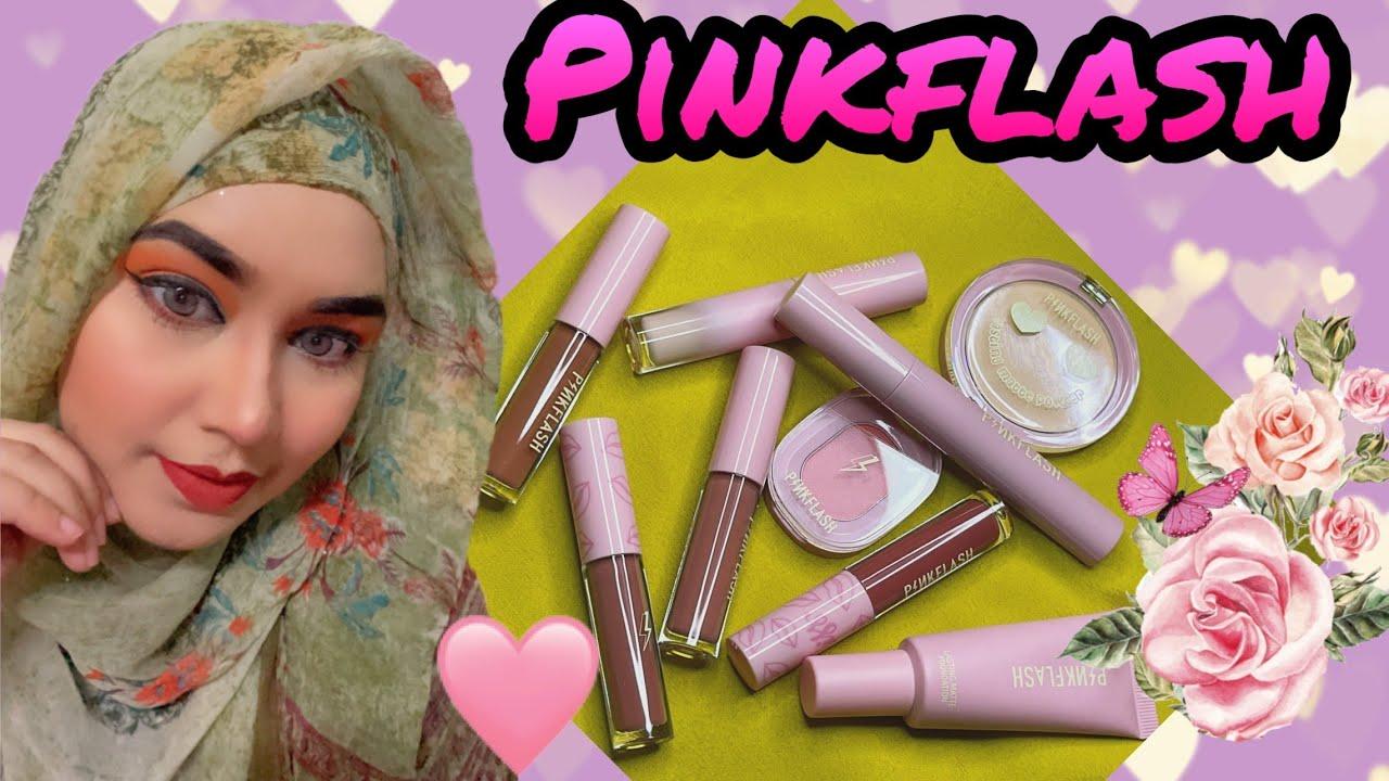 Download Pinkflash Makeup Product গুলো আসলে কেমন?   *Under 200tk*   makeup products   Shamarat Tandra