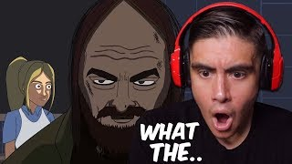 Reacting To Scary Animations Of The Most Disturbing Real Life Encounters..