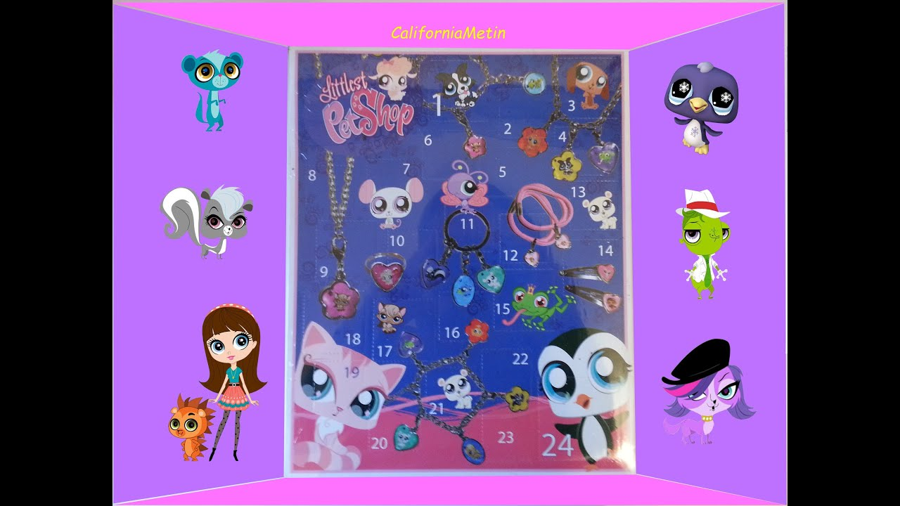 Littlest Pet Shop 24 Surprise With Jewelry and Accessories ...