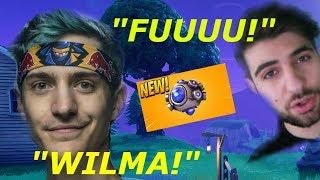 NINJA and TIMTHETATMAN troll SYPHERPK with WILMA JOKE *gets Ligma* - Fortnite twitch moments