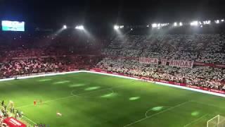 El Himno del Centenario en la previa del Sevilla FC - Atlético de Madrid