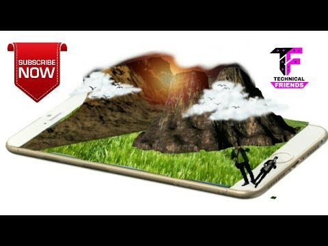 How to make 3d photo for picsart | Technical Friends| 2017