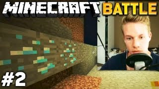 Let's BATTLE Minecraft #2/3 - DIAMANTEN!!