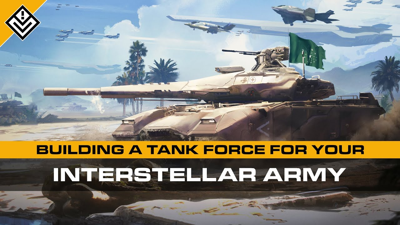 Building A Tank Force For Your Interstellar Army | Tank Types, Naming Conventions & Doctrines