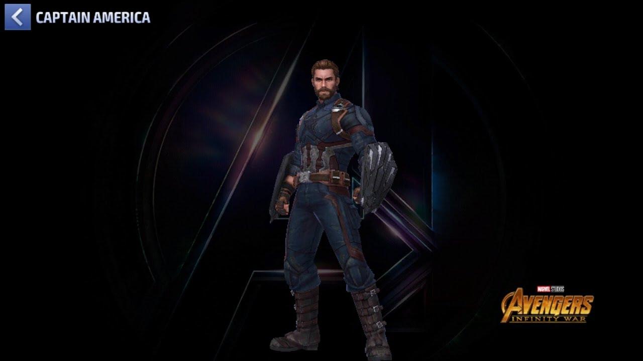 New Captain America Infinity War Uniform Update Marvel
