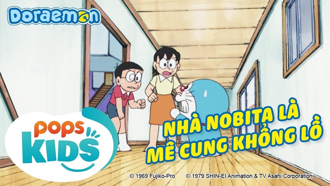 [S7] Doraemon Tập 339 - Nhà Nobita Là Mê Cung Khổng Lồ, Cầu Vồng Violet - Hoạt Hình Tiếng Việt