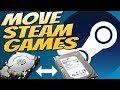 How to Move Installed Steam Games to Another Hard Drive Or SSD 2018