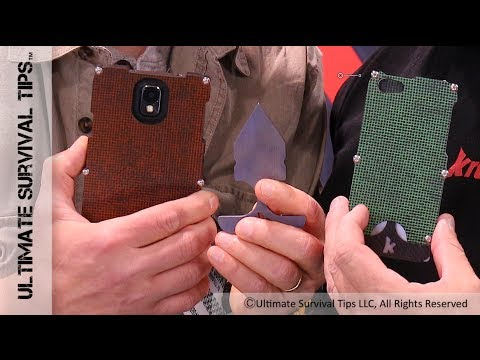 SHOT Show 2014 - NEW Self Defense Case For IPhone / Samsung  - Best Conceal Carry / EDC Case?