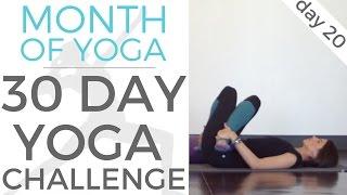 Day 20 - Santosha // #MonthOfYoga - 30 Day Yoga Challenge