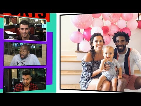 Mike Conley Responds To Haters Saying His Baby Is Too White and NOT His   TMZ Sports