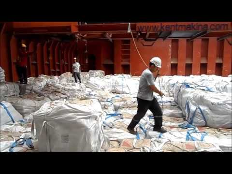 kent general ship services jumbo bags loading