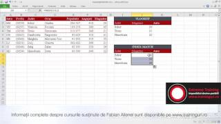Fabian Ailenei - VLOOKUP vs. INDEX-MATCH (Excel)
