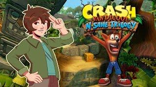 Playing the Crash Bandicoot N Sane Trilogy Demo