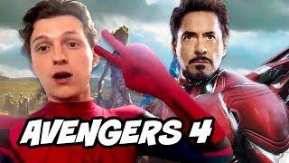 avengers 4 spider man far from home tom holland scene explained