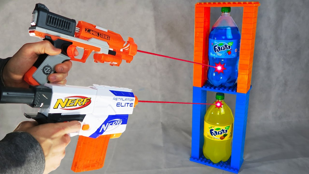 Most Dangerous Nerf Mod Exploding Fanta Youtube